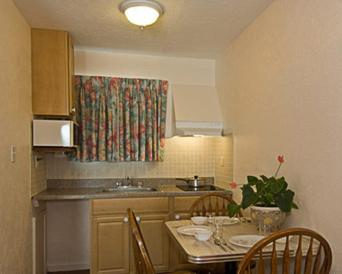one room kitchen type b blue water motel