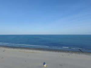 Aerial View of Wildwood Crest Beach